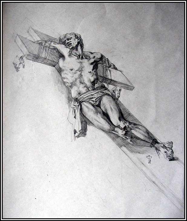 Painter Ilya`s sketchbook