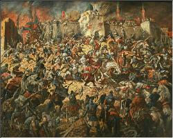 Defence of Kazan against Ivan the Terrible armies